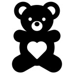 teddy-bear-icon-85623