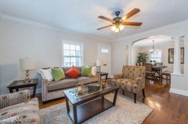 15 Edison - living room