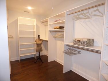 Master - Walk-in Closet