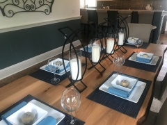 Dining Table close-up